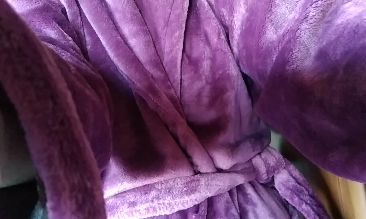 新品のバスローブ|園城ダイヤさんの日誌写真