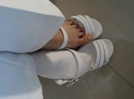足が…|まい✿さんの日誌写真