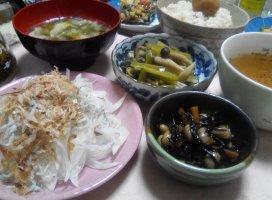 新玉ねぎと鰹節のサラ|takakoさんの日誌写真