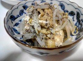 もやしのゴマ酢醤油和 takakoさんの日誌写真