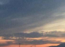✨🌇今日の夕焼け🌇✨|あい*。。さんの日誌写真