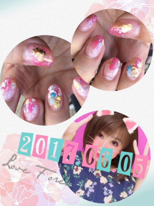 6月ネイル😊 ミサ♡さんの日誌写真