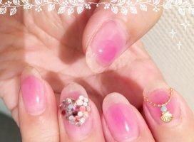 シンプルネイル|ミサ♡さんの日誌写真