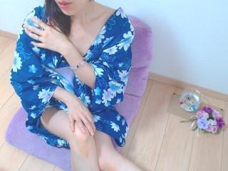 浴衣姿で/// る な☆彡さんの日誌写真