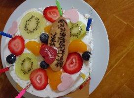 ケーキが、、、(^^|ふうま☆さんの日誌写真