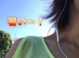 暑くて|アカネ゜.+:さんの日誌写真