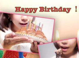 お誕生日のあなたへ♪|小林 まいさんの日誌写真