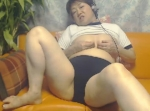 人妻動画:ブルマで電までイきまくり (~∇、~;) ハァハァ