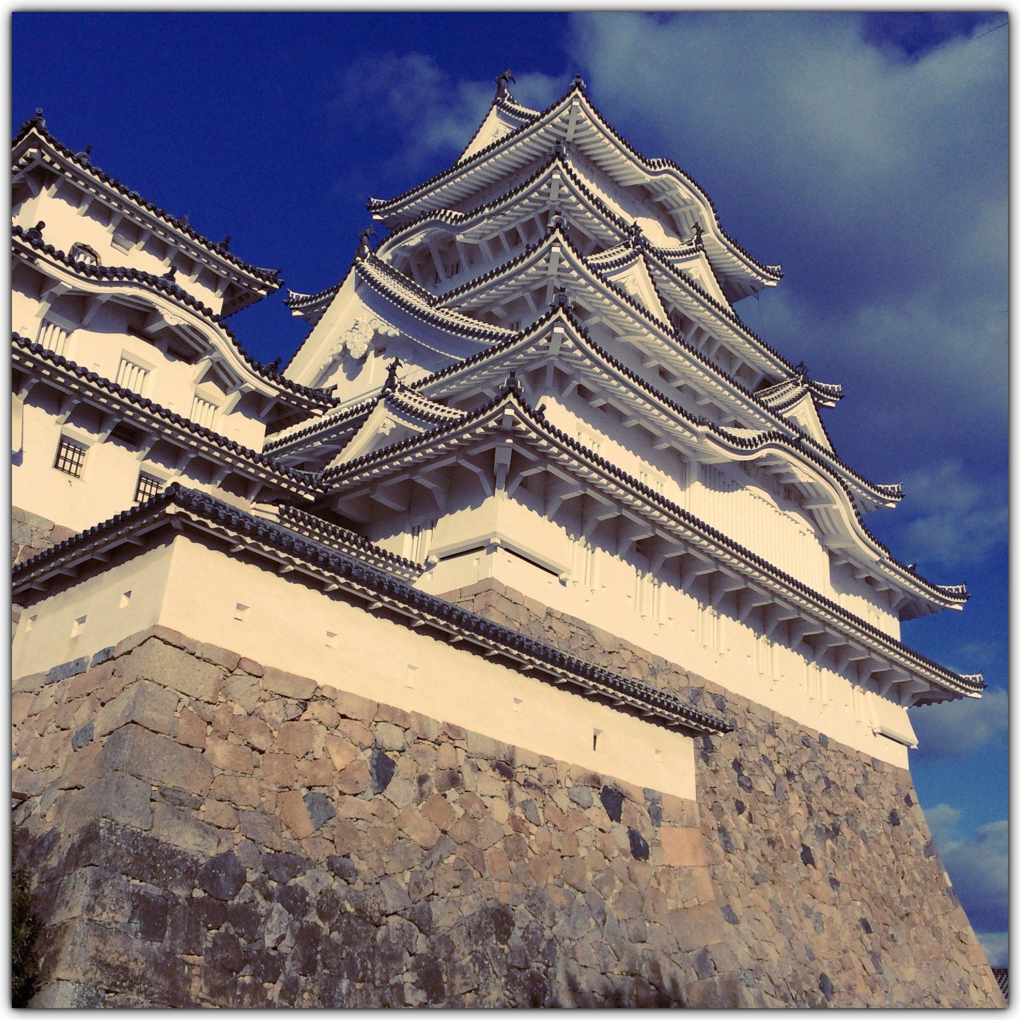 人妻さん日誌:先週、初めての姫路城