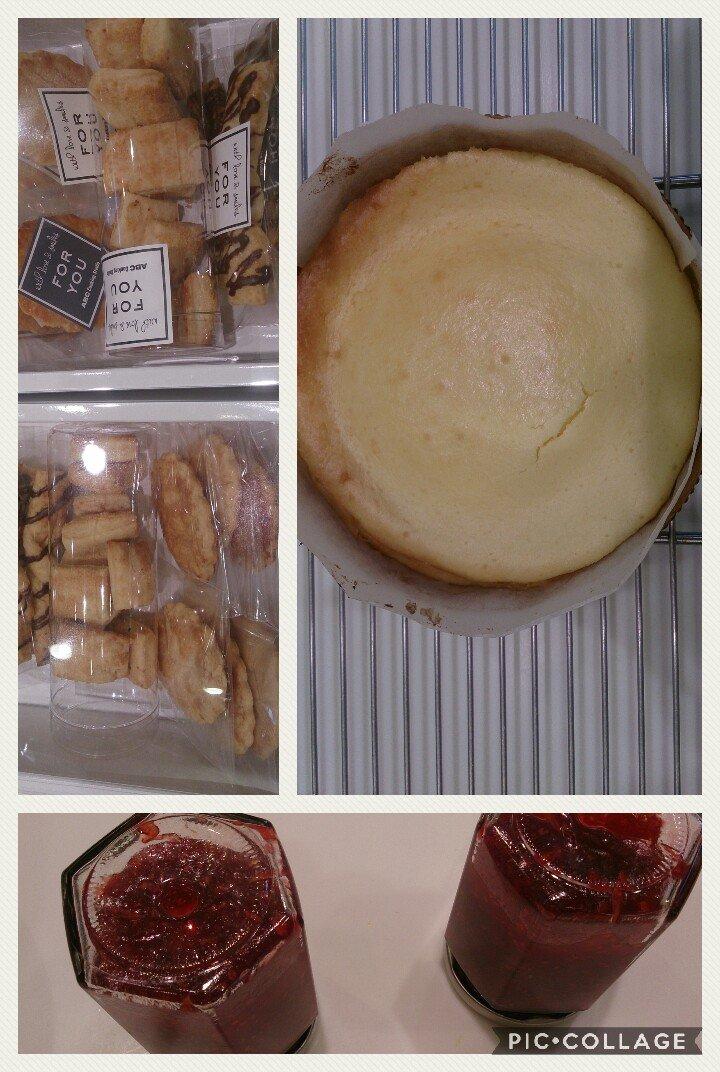 人妻さん日誌:ベイクドチーズケーキ