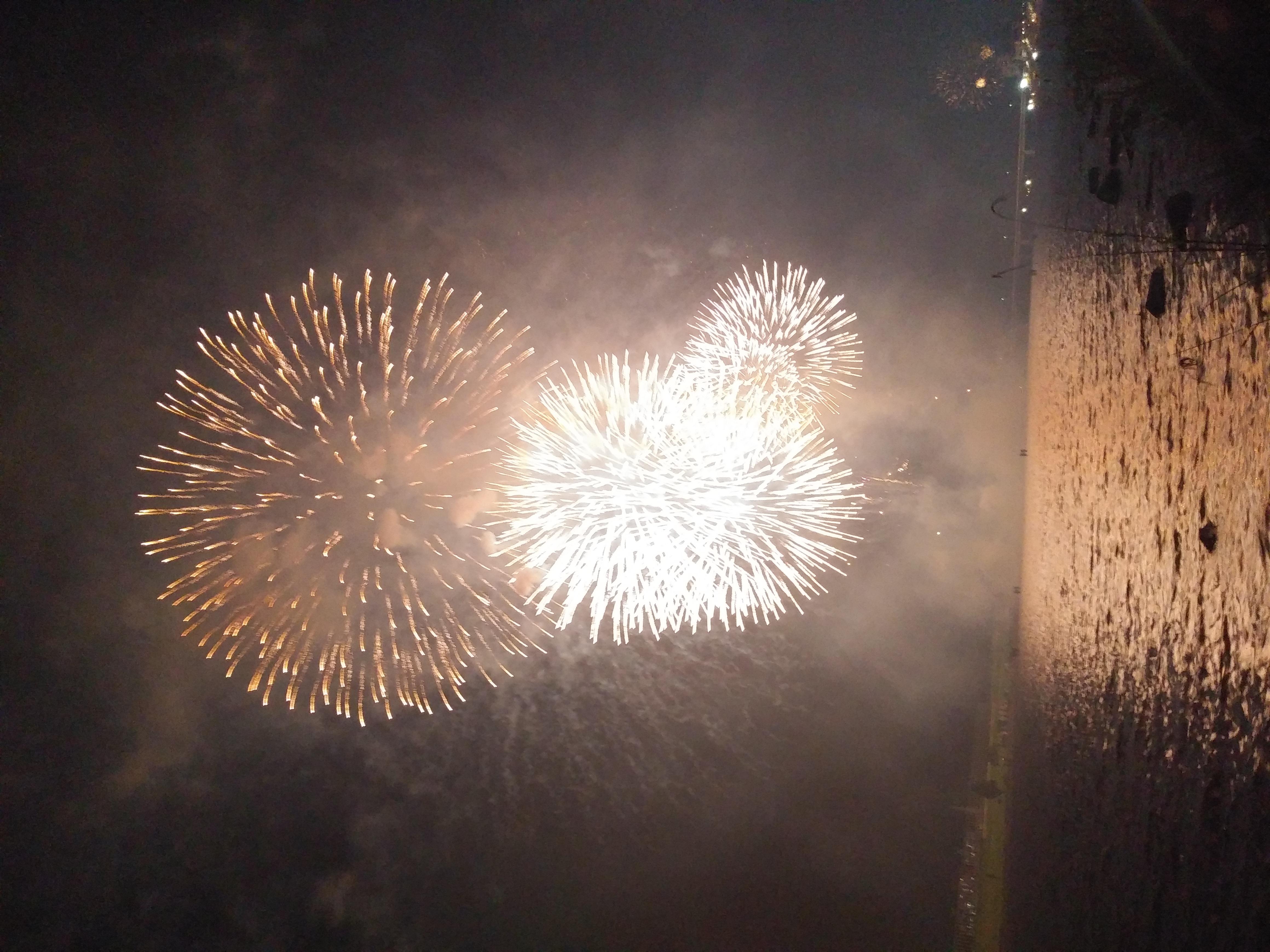 人妻さん日誌:昨夜は地元の花火大会