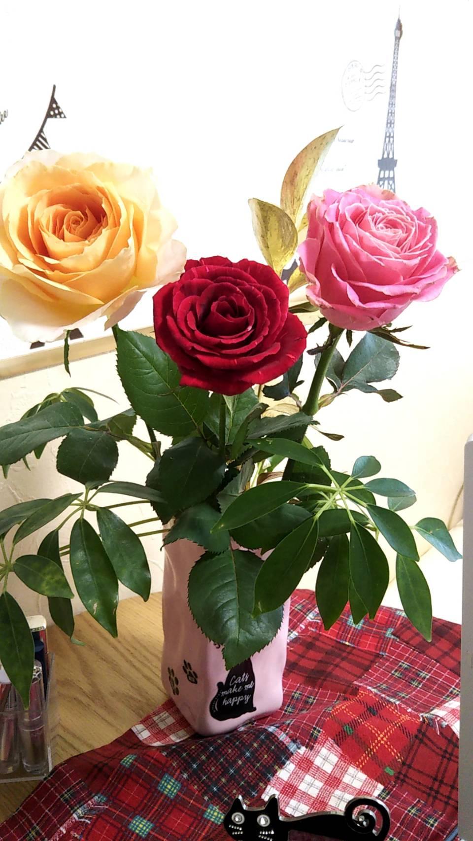 人妻さん日誌:お花、大好き♪<br /> お花